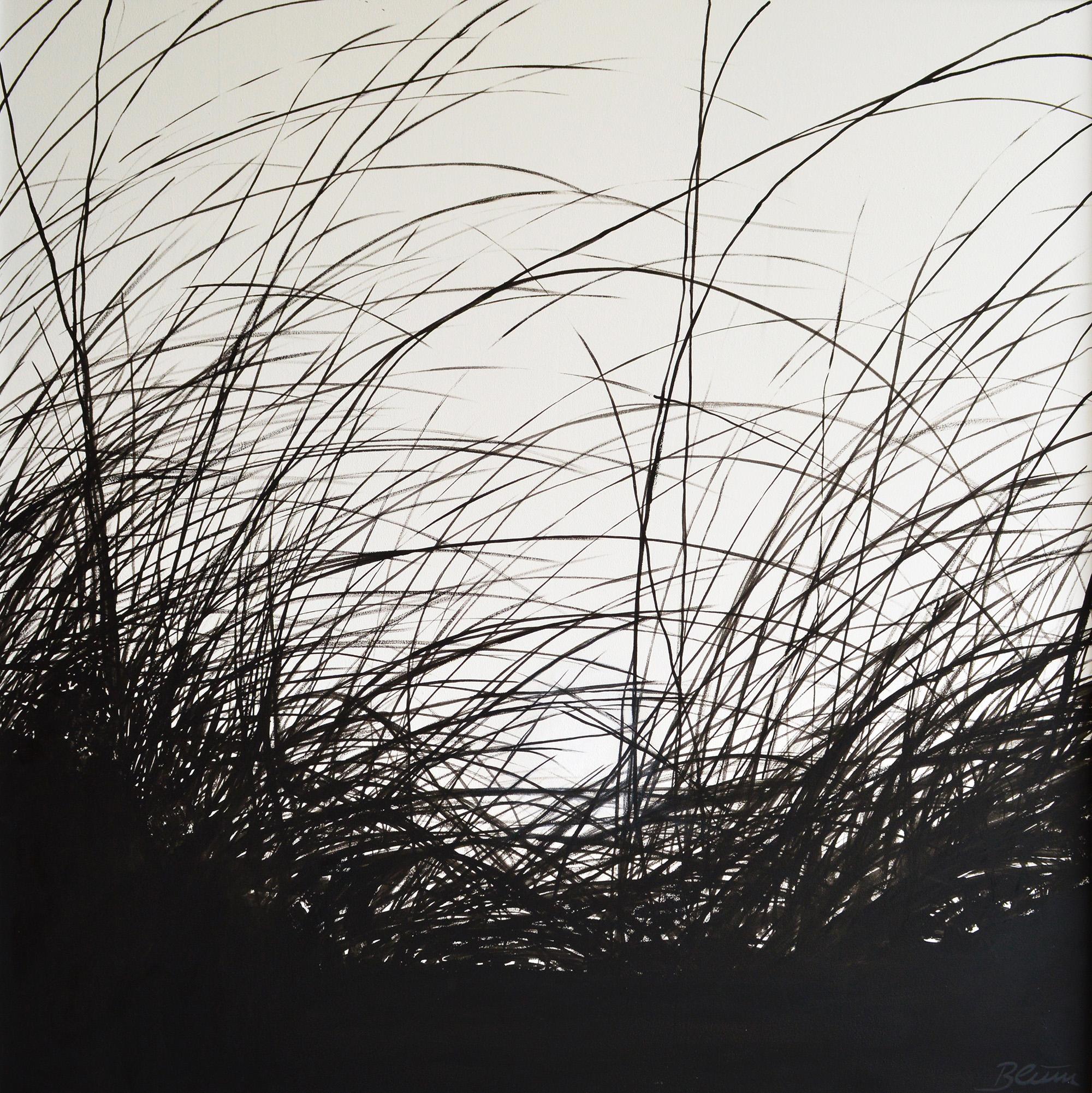 Barfuß, 100 x 100 cm, Öl/Holz