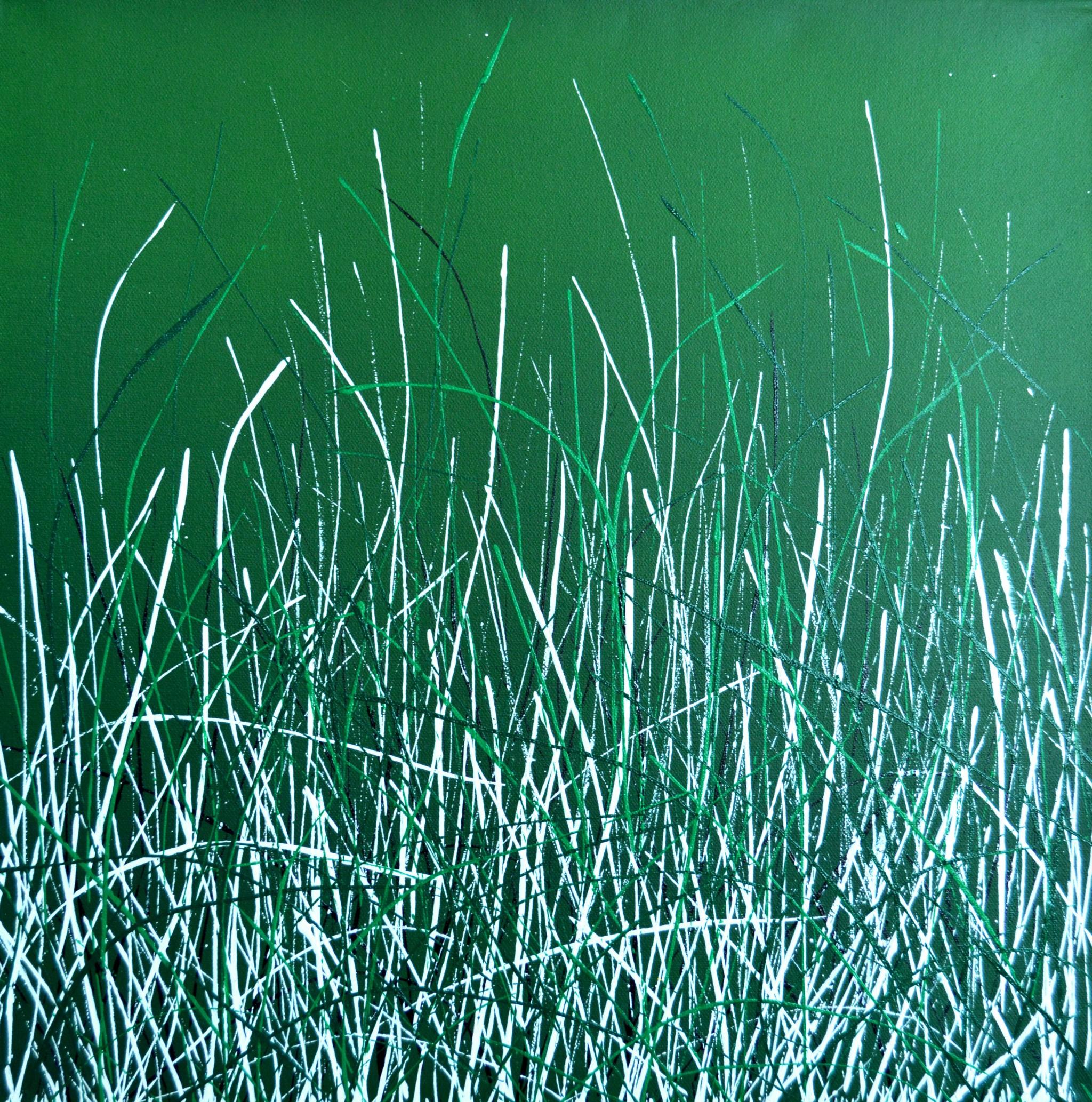 Öl/Lack/Leinwand, 50 x 50 cm