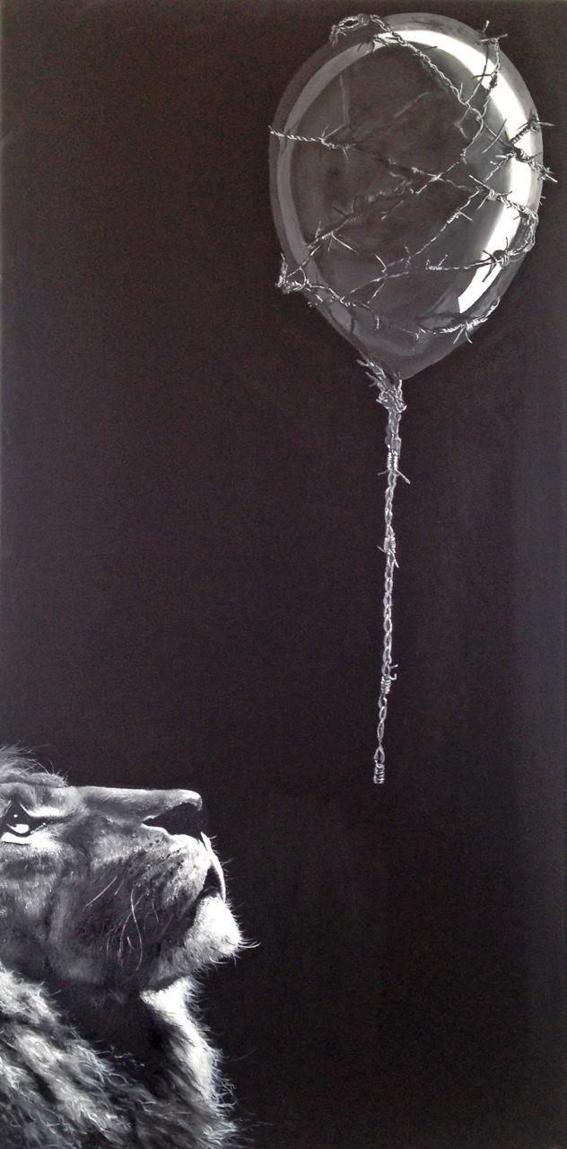 Hope, Öl/Leinwand, 120cm x 60 cm